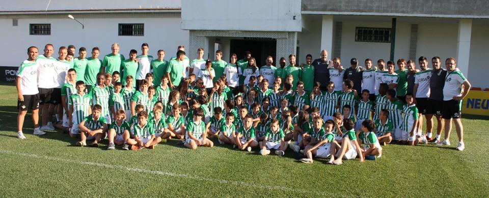 Cierre a lo grande para el III Campus Deportivo Fundación Real Betis Balompié