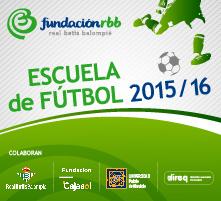 Escuela de Fútbol 2015/2016 - Fundación Real Betis Balompié