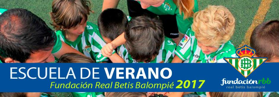 Escuela de Fútbol 2016/2017 - Fundación Real Betis Balompié